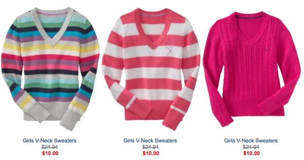 Old Navy: Fleece jackets for $8 & sweaters for $10 (today only ...