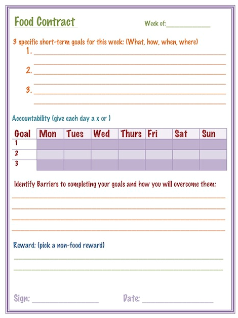 Printables Free Printable Goal Setting Worksheets 15 free goal setting and home management printables download
