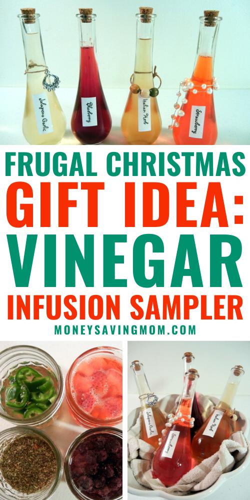 DIY Vinegar Infusion Sampler Gift Idea