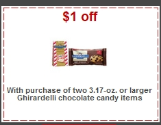 graphic regarding Ghirardelli Printable Coupon identified as Aim: Ghirardelli Chocolate for $0.94 for every bag! - Financial