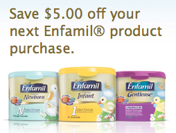 image regarding Enfamil Printable Coupons titled $5/1 Enfamil printable coupon Cash Preserving Mom® : Financial