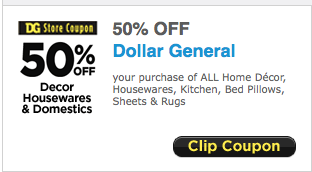 Dollar general 50 off home decor printable coupon for Home decorators coupon 50 off 200