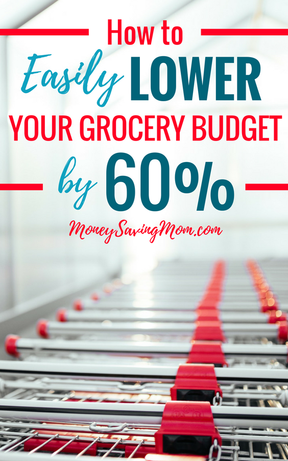 Lower your grocery bill with these really simple tips!! This post is SO inspiring if you're looking to save money on groceries!