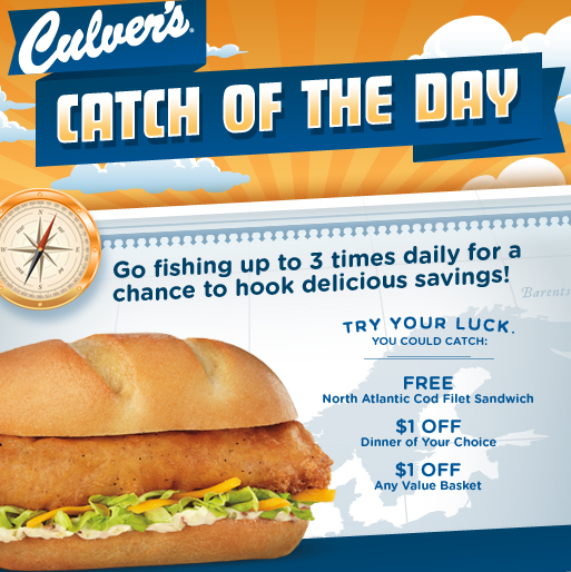 Get the top deals from s of retailers, including Culver's, in the Best of RetailMeNot emails.