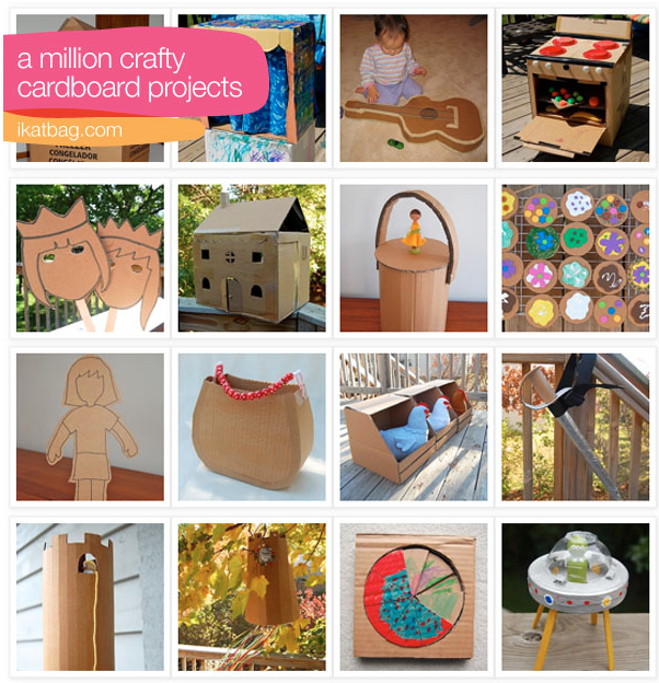 40 Ways to Repurpose a Cardboard Box
