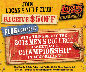 Logan's roadhouse discount coupons