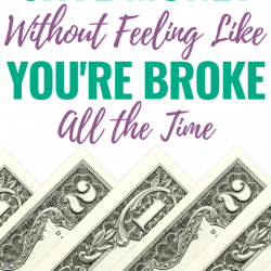 """Does saving money make you feel """"broke"""" all the time? This step-by-step process will help!"""