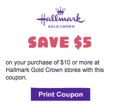 image regarding Hallmark Coupon Printable named Hallmark: $5 off $10 printable coupon (legitimate during Might 13