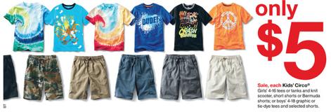 01fb470aaafec Target: Circo Kids Apparel for just $4.25 (in-store) - Money Saving ...
