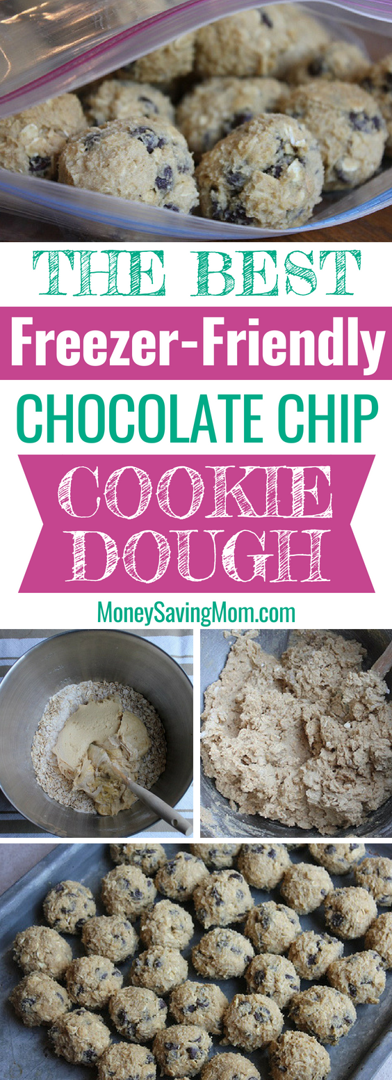 Cookie dough is SO easy to make ahead of time and freezer for later! And you'll always have s ready to pop in the oven when company comes over!!