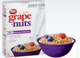 Save with 17 Post Cereal coupons and sales for December, Today's top offer: 5% Off. Coupon Sherpa, #1 in coupons. They're the brand behind many of the most popular cereals including Grape Nuts, Honey Bunches of Oats, Fruity Pebbles, Raisin Bran and many more. Breakfast is the most important meal of the day, and you'll always get a.