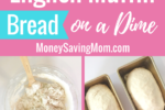 This homemade English Muffin Bread will save you so much money on store-brought English muffins! And it's SO easy to make and super delicious!!
