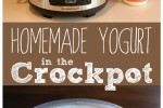 Homemade Yogurt in the Crockpot