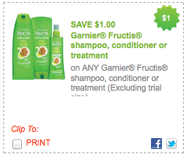 Garnier coupons sunday paper