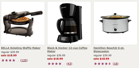 Kohls.com: Rotating Waffle Maker, Black & Decker Coffee Maker, or Crock Pot for USD 17 shipped ...