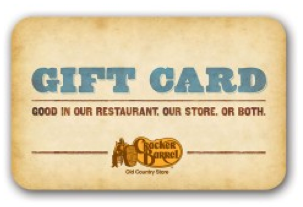 Did you get your free 5 cracker barrel e gift card for How did cracker barrel get its name