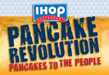 IHOP Pancake Revolutions - Free Pancakes