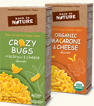 Target: Back to Nature Mac & Cheese for just $0.50!