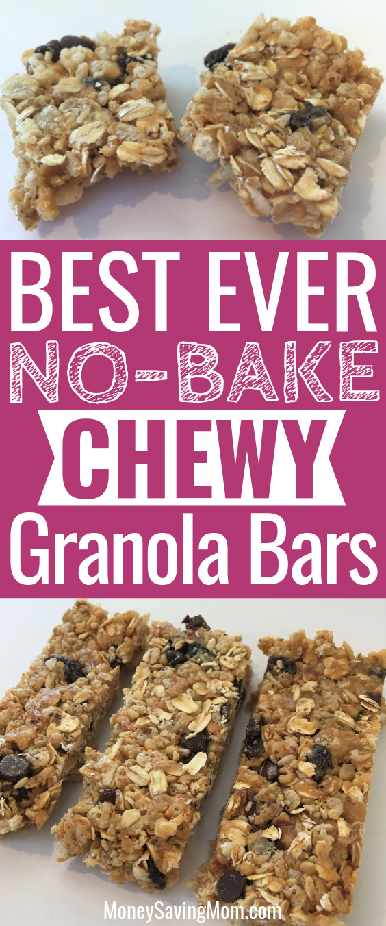 These No-Bake Granola Bars are SO easy to make and super delicious!!