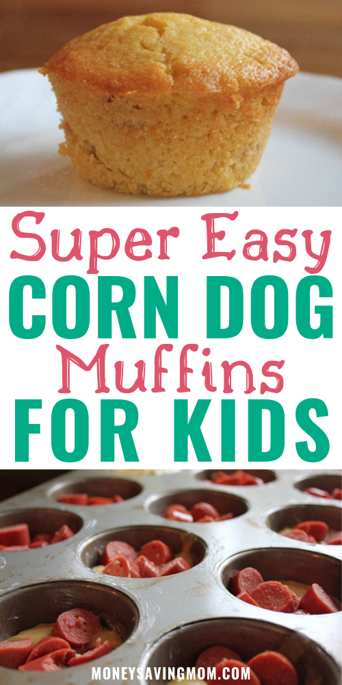 Easy Corn Dog Muffins for Kids