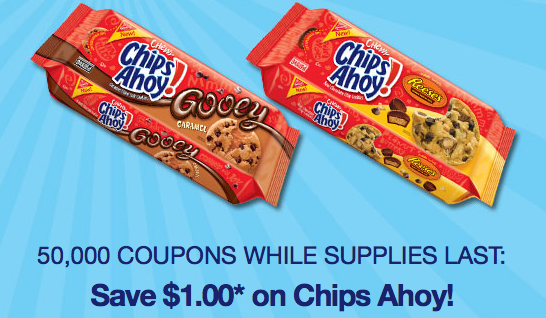image regarding Chips Ahoy Coupons Printable named $1/1 Nabisco Chips Ahoy! printable coupon (Fb Deliver