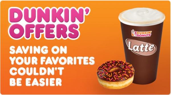 photo regarding Printable Dunkin Donuts Coupons identified as Dunkin Donuts printable coupon codes - Cash Preserving Mom® : Dollars