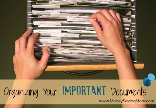 Organizing Your Important Documents: Introduction (Part 1)