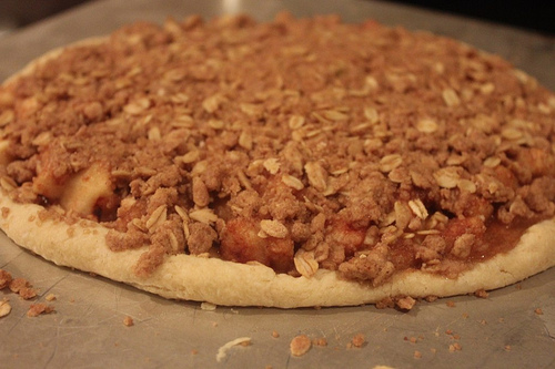 Apple Pie Pizza Recipe Apple Crisp Pizza Recipe