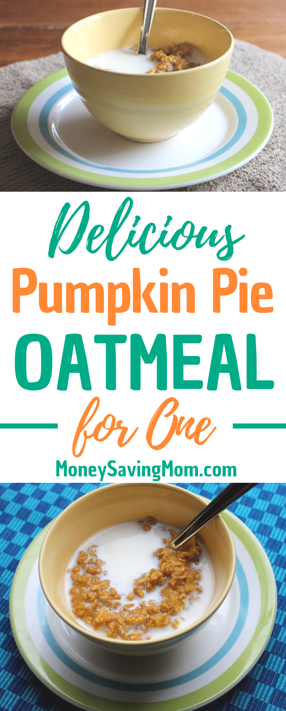 Ready for all things pumpkin? This Pumpkin Pie Oatmeal is SO yummy and hits the spot -- especially during the fall season!