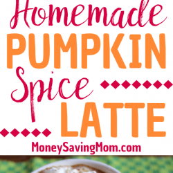 Love pumpkin spice lattes but hate the price? Save money by making your own at home with this delicious recipe!