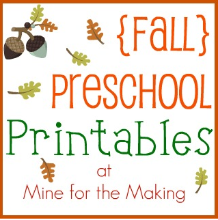 download free - Free Pre School Printables