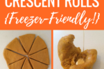 These are the BEST Pumpkin Crescent Rolls ever! SO soft, warm, tender, and DELICIOUS! The perfect fall recipe -- especially slathered with butter and honey!