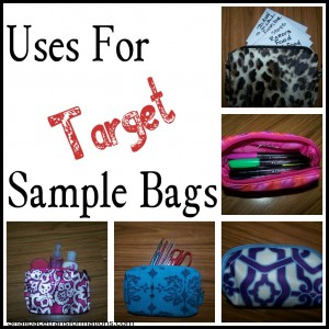 10 Uses for Target Sample Bags - Money Saving Mom®