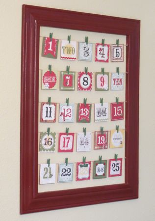 11 frugal advent activities free printables money for Make your own christmas countdown calendar