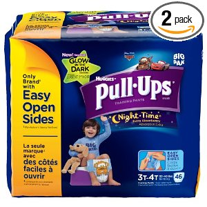 Pull-Ups Night-time Training Pants, Size 3T-4T Deal
