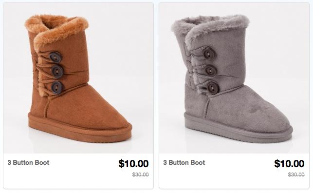 Totsy Toddler Girls' Boots for $10 - Money Saving Mom®