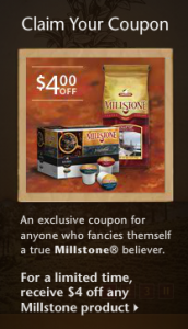 Millstone Coffee coupon
