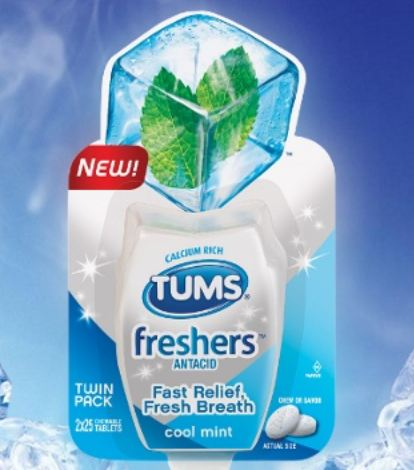 FREE Tums Freshers sample...
