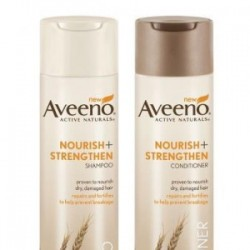Free sample of Aveeno Nourish shampoo & conditioner (Facebook offer)