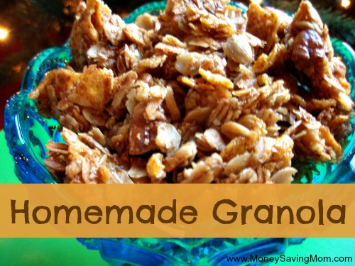 Homemade Granola and more...