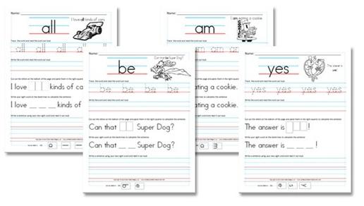 Free Kindergarten Sight Word Sentence Worksheets Money Saving Mom. Download Free Kindergarten Sight Word Sentence Worksheets From Confessions Of A Homeschooler. Kindergarten. Kindergarten Sight Word Sentences Worksheets At Mspartners.co