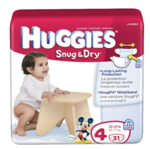 Huggies and Pampers Diaper Deal