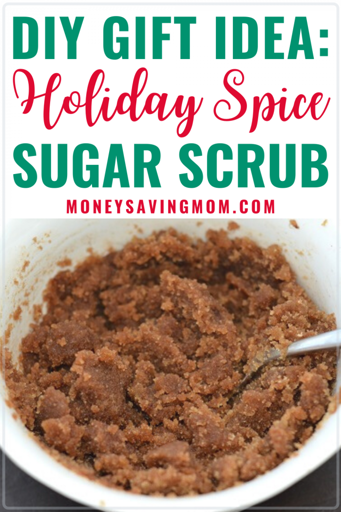 DIY Holiday Spice Sugar Scrub