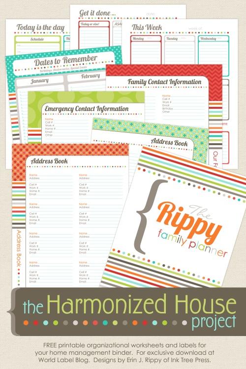 More free home management binder printables money saving mom download free harmonized house home management binder printables download free home management maxwellsz