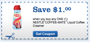 graphic regarding Printable Coffee Coupons identify $1/1 Nestle Espresso-Close friend Creamer printable coupon Economic