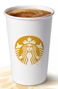Free tall cup of Starbucks Blonde Roast