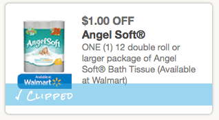graphic regarding Angel Soft Printable Coupon identified as Printable discount coupons: Angel Delicate Tub Tissue, Glade, Nesquik