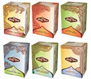 Free sample of Yogi tea