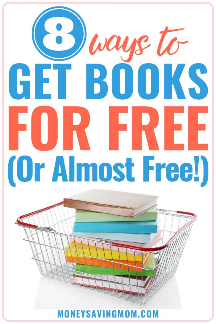8 ways to get free books