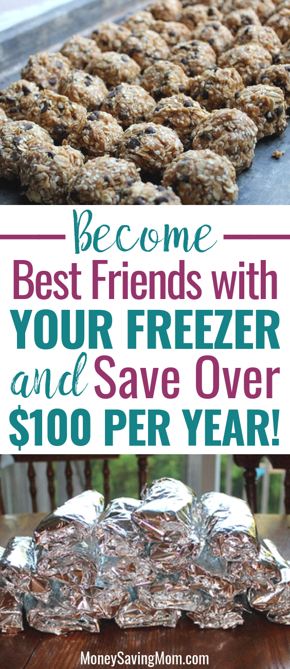 These super simple freezer cooking hacks will help you save over $100 per year!
